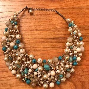 ALDO Multi color Pearl & Turquoise Collar necklace